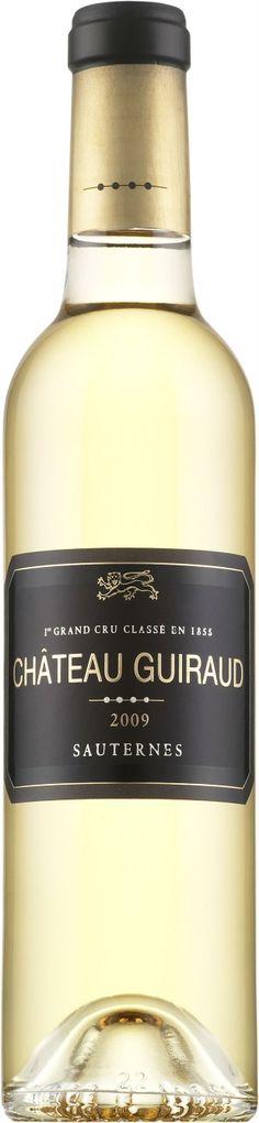 Semilón / Sauvignon blanc 2009 (dulce) - Château Guiraud, Bordeaux ---------------------- Terroir: Premier Grand Cru Classé de Sauternes AOC - Bordeaux