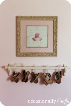Pink Ballerina Room- A Bedroom Makeover