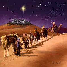 by Marcello Corti ༺Oh, Holy Night༺ Christmas Jesus, Meaning Of Christmas, Christmas Scenes, Christmas Nativity, A Christmas Story, Christmas Pictures, Christmas Cards, Merry Christmas, Religious Pictures