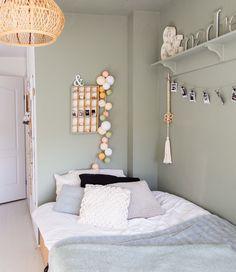 Inspiratie | Slaapkamer | Lichtslinger Light Blossom - Cotton Ball Lights | Meidenkamer | Zomerse sfeerverlichting | Lichte sfeerverlichting | Lichtslinger