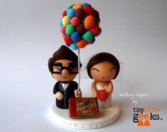 Torta de bodas Super Mario y la princesa Peach por TinyLittleGeeks