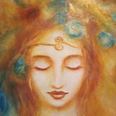 Wrapped in softness, my breath slows like honey, and I begin to remember. Under the Tree of Orange,    I am pulled to the deep quiet within,  to the place of Listening,  and it is enough,  just to Be. ~Poetry and Art by Flora Aube~