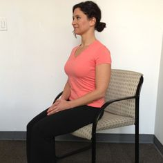 8 Easy Exercises You Can Do Sitting Down - This will be a good start to my new years resolution, until my foot ligaments are healed.