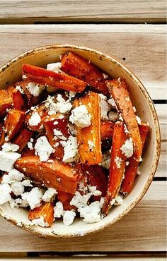 Caramelized Carrots with Feta Cheese