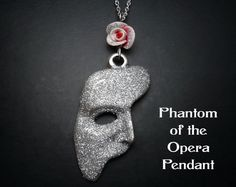 Phantom Of The Opera Necklace Sparkly Edition by missbohemia, $27.00