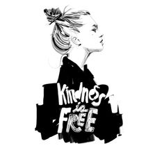 koketit: kindness is free illustration by koketit (IN BE TWEEN AND ...)
