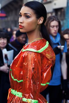 """Charlotta Actis Barone took her #SS13 to the streets of London during #LFW What a wonderful way to showcase your collection"" Shot By. Gavin.SF 