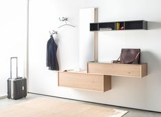 MODO - Designer Mirrors from Sudbrock ✓ all information ✓ high-resolution images ✓ CADs ✓ catalogues ✓ contact information ✓ find your nearest. Floating Nightstand, Floating Shelves, Hallway Furniture, Hallway Storage, Small Dining, Ideal Home, Master Bedroom, Entryway, Designer Mirrors