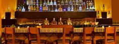 Fully Stocked Bar At Adobe Grill Mexican Restaurant In Palm Springs At La Quinta Resort