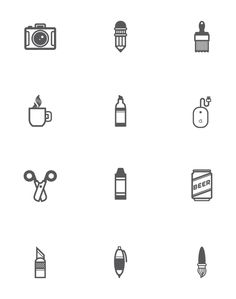 Tools of the Trade by Michael Molloy, via Behance