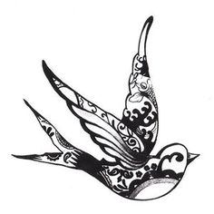 Very similar to my tattoo! Mine is just an outline, but I've considered filling it with patterns like this :)