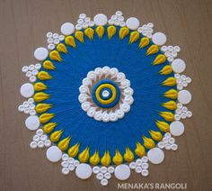 50 Amalaki Ekadashi Rangoli Design (ideas) that you can make yourself or get it made during any occasion on the living room or courtyard floors. Easy Rangoli Designs Videos, Rangoli Designs Latest, Simple Rangoli Designs Images, Rangoli Designs Flower, Rangoli Designs Diwali, Rangoli Designs With Dots, Flower Rangoli, Beautiful Rangoli Designs, Kolam Designs