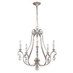 Buy collection twirl 5 light twist chandelier black at argos dewitt chandelier image aloadofball Images