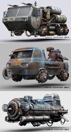 In the last days. Futuristic Motorcycle, Futuristic Cars, Heavy Metal, Garage Windows, Fallout Art, Flying Car, Steampunk Design, Future Car, Future Tech