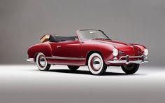 1958 VW Karmann-Ghia Cabrio vk.com/retrophotosy