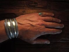 Iron Crow Rockin Vintage - Marked down for halloween only! Striking Rock star cool! Navajo Sterling Silver Bracelet Hallmarked , $225.00 (http://www.ironcrowvintage.com/products/marked-down-for-halloween-only-striking-rock-star-cool-navajo-sterling-silver-bracelet-hallmarked.html)