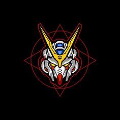 White Robot Head With Sacred Geometric Background Vector and PNG Gundam Head, Gundam Art, Blue Sky Background, Geometric Background, Vector Design, Vector Art, Logo Design, Graphic Design, Gundam Wallpapers