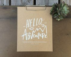 """Hello Adventure! """"I have come that they may have life, and have it to the full."""" - John 10:10 about this piece Whatever your mountain, it's time to tackle it one baby or big step at a time! This would"""