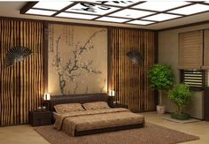 Japanese style bedroom, Japanese bedroom decor ideas and furniture design Top tips on how to add Japanese style bedroom and how to choose Japanese bedroom furniture, Best Japanese bedroom decor and design ideas for your bedroom interior design Asian Style Bedrooms, Asian Bedroom Decor, Japanese Style Bedroom, Asian Home Decor, Bedroom Themes, Bedroom Styles, Diy Bedroom, Bedroom Modern, Zen Bedrooms