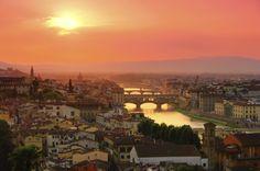 Florence is een wereldstad met zeer veel historische kunstwerken en monumentale gebouwen