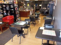 A great downtown restaurant! Cosmic Oasis Board Game Cafe, Richmond, KY