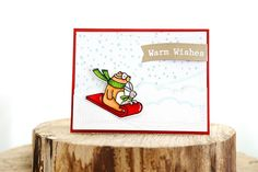 sledding in a winter wonderland (Avery Elle)  Snow much fun