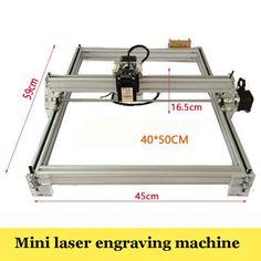 1PC   Large Area Laser Engraving Machine 5500mw DIY Laser Engraver IC Marking Printer Carving Size 40X50cm #Affiliate
