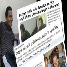 Diario En Directo: Que justicia mas Chimba ! Brayan Felix fue apresad...