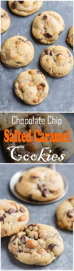 How to Make Chocolate Chip Salted Caramel Cookies