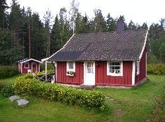 Idyllisk stuga i Sverige