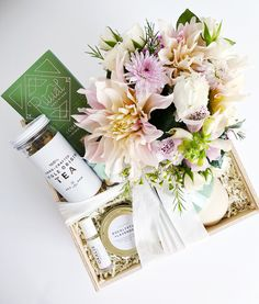 Gift Box Ideas Birthday For Her Tea Lover Sympathy