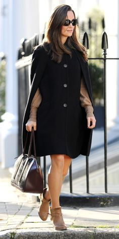 Pippa Middleton's Style - October 25, 2013 from #InStyle
