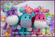 [FREE PATTERN] The wait is finally over, Part Two of the Molly The Magical Unicorn CAL is now available on the Furls Crochet Blog!  I hope you all enjoy the pattern and happy crocheting!  Link: https://furlscrochet.com/blogs/amigurumi-crochet-tutorials/january-amigurumi-cal-part-two-molly-the-magical-unicorn