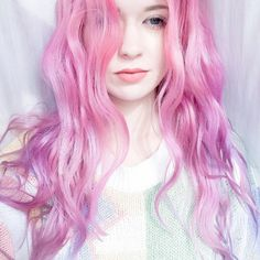 A different hair color special every day! Enjoy today's gallery with black & white hairstyles! Ombre Hair, Pink Hair, Hair Color Streaks, Different Hair Colors, Pinterest Hair, Fantasy Hair, Dye My Hair, Rainbow Hair, Grunge Hair