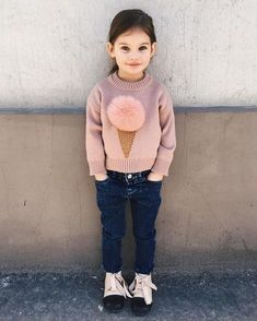 Terrific Free of Charge knitting for kids little girls Tips New Knitting For Kids Little Girls Princesses Children Ideas Kids Outfits Girls, Diy For Girls, Kids Girls, Little Girls, Toddler Girl Style, Toddler Fashion, Kids Fashion, Stylish Toddler Girl, Outfits Niños