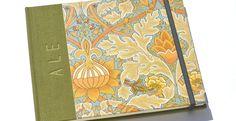 •Cuadernos William Morris• a pedido Encuadernaciones cartoné • Tapas duras cubierta de tela y papeles con diseño de William Morris •100 hojas ahuesadas de 80grs • Tamaño:17 x 21cm • Señala…