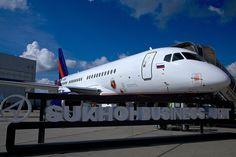 #Sukhoi #SSJ-100 #VIP #Superjet   Follow the link for more photos - http://shukalov.com/suxoj-ssj-100-vip/