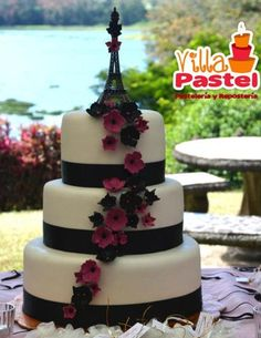 Romántico pastel parisino en colores muy de tendencia.