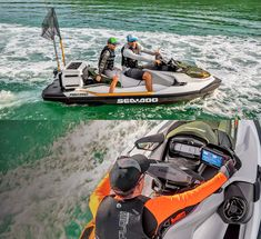 Sea-Doo Now Makes a Fishing Jetski With Dedicated Fish Cooler, GPS, and Fish Finder Jet Ski Fishing, Fishing Boats, Seadoo Jetski, Pedal Kayak, Survival Gadgets, Jet Skies, Ski Boats, Fish Finder, Outboard Motors