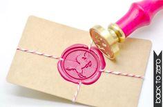 B20 Siegel Stempel Fabelwesen-Einhorn von Backtozero auf Etsy