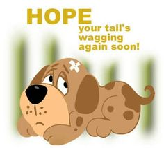 ♡ Dear Melody, here's wishing you a speedy recovery my friend!