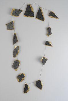 ELISABETH STEINER Slate Necklace 2