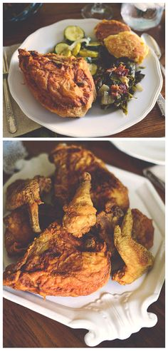 Southern Fried Chicken Recipe //