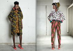 Vlisco ad - African fabric/style