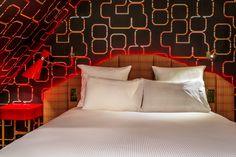 Idol Hotel Paris **** | Hôtel Musical et Design près de l'Opéra Garnier Paris 8 | Suite Give Me The Night #design #idolhotel #decorationinterieur http://www.delightfull.eu/en/