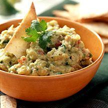 WeightWatchers.com: Weight Watchers Recipe - Guacamole Dip with Chips - low fat white bean guacamole
