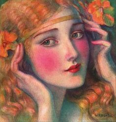 Polish American Painter & Illustrator: Wladyslaw Theodor Benda