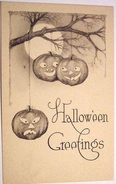 Vintage Halloween Cards | Vintage Halloween Postcard | Flickr - Photo Sharing!