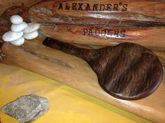 Black Walnut Ruffle. www.alexanderspaddles.com