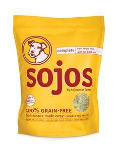Sojos Complete Beef Dog Food Mix, 8-Pound $69.11 (save $15.39)